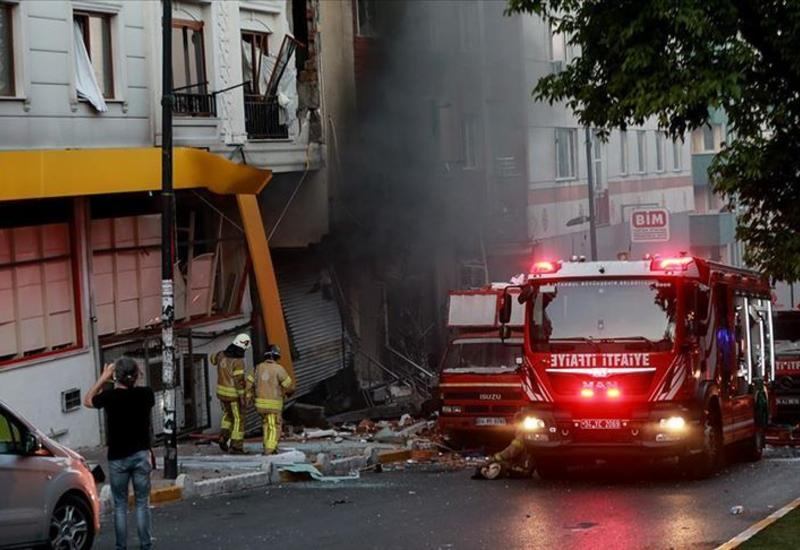 Взрыв произошел в жилом здании в Стамбуле