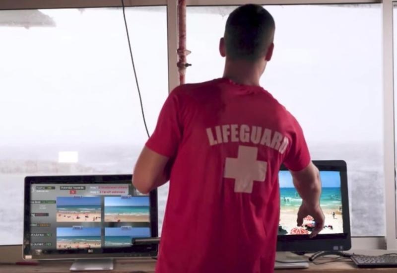 На израильском пляже появился спасатель с искусственным интеллектом
