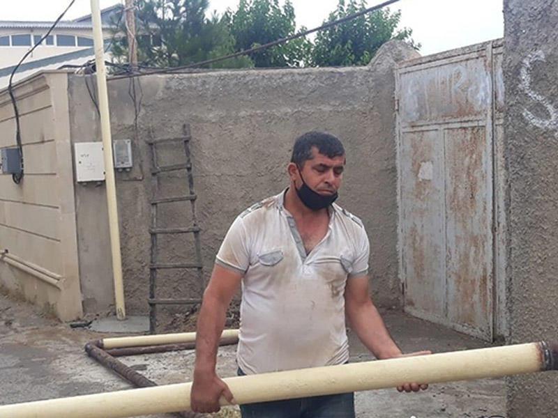 Житель Баку решил поменять место линии и оставил без газа 1 200 абонентов