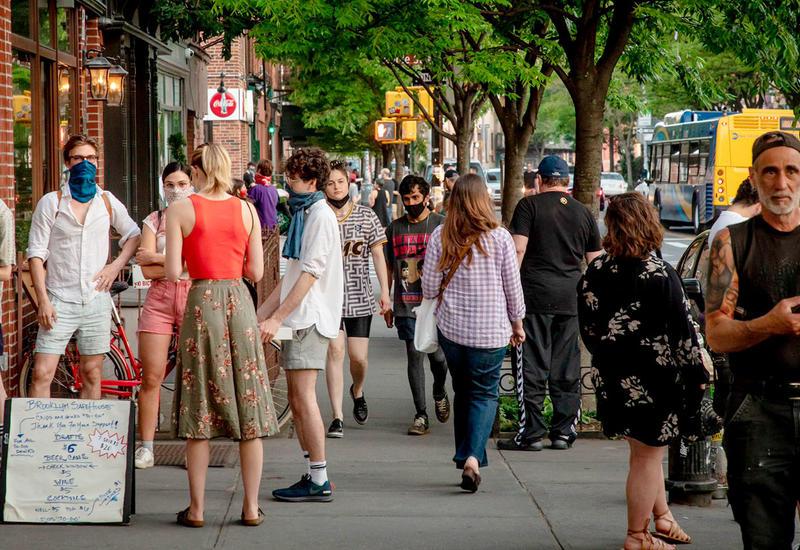 Протестующие в Нью-Йорке потребовали сократить бюджет полиции минимум на $1 млрд