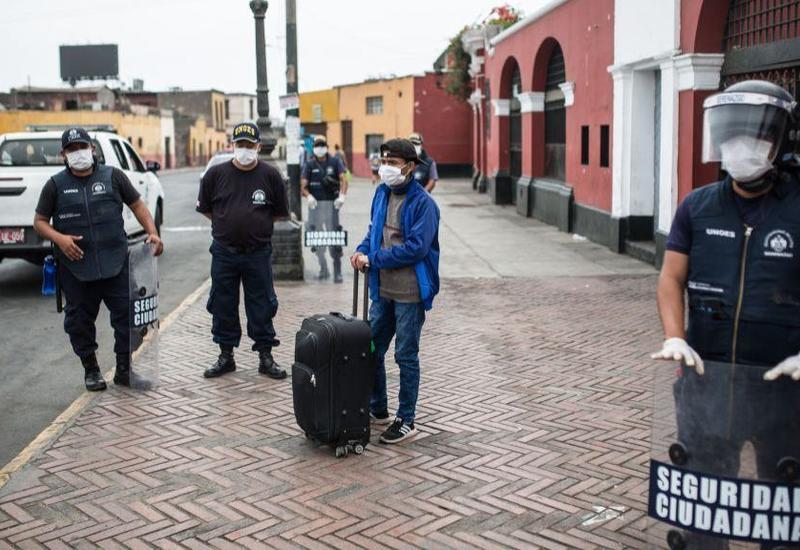 В Перу продлили режим ЧП из-за коронавируса