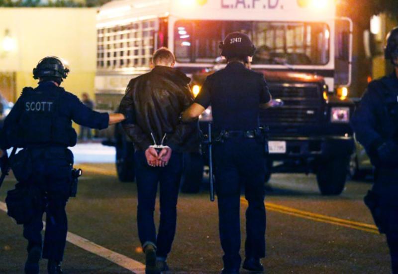В Лос-Анджелесе задержали 28 участников несанкционированной демонстрации