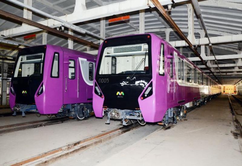 «Бакметрополитен» выпускает на линию два новых поезда