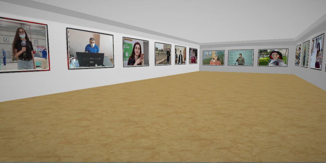 """В Азербайджане презентована виртуальная фотовыставка """"Невидимые герои 2"""""""