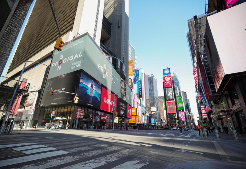 Власти штата Нью-Йорк ввели 14-дневный карантин для прибывающих из 16 штатов
