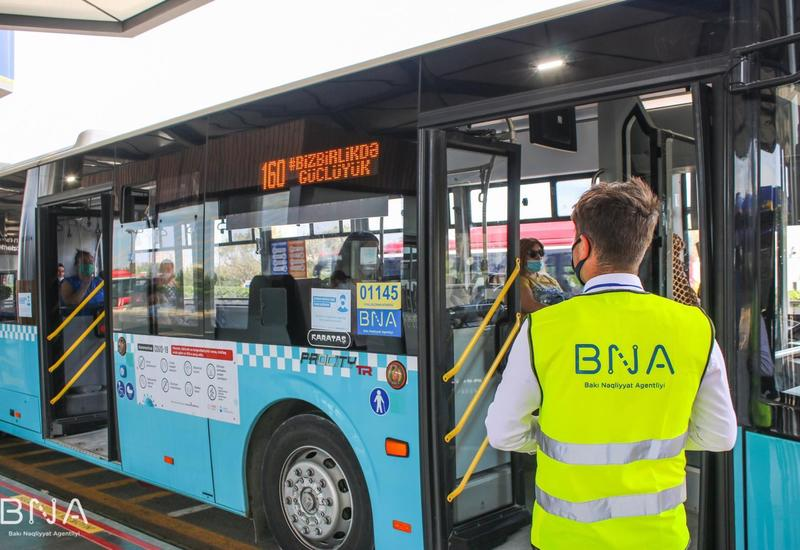 В Баку ежедневно перевозится свыше 1,6 миллиона пассажиров