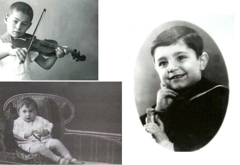 Детство азербайджанских музыкантов