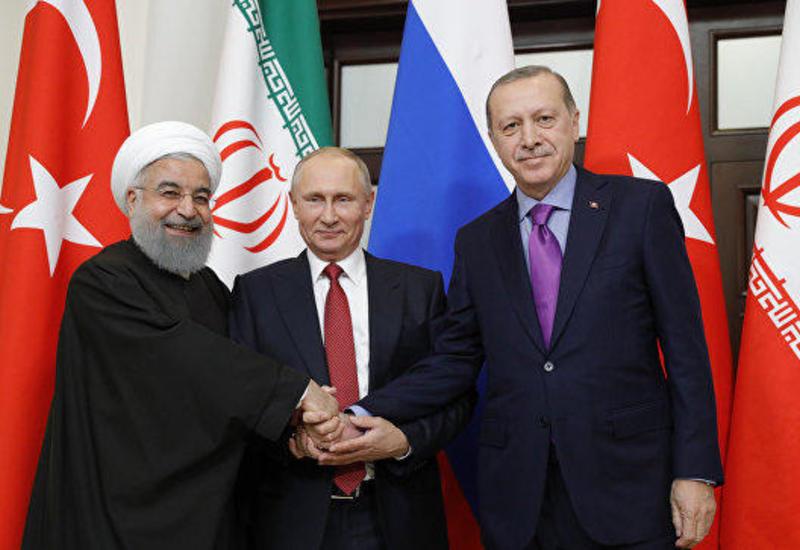 Путин, Эрдоган и Роухани по видеосвязи обсудят сирийское урегулирование