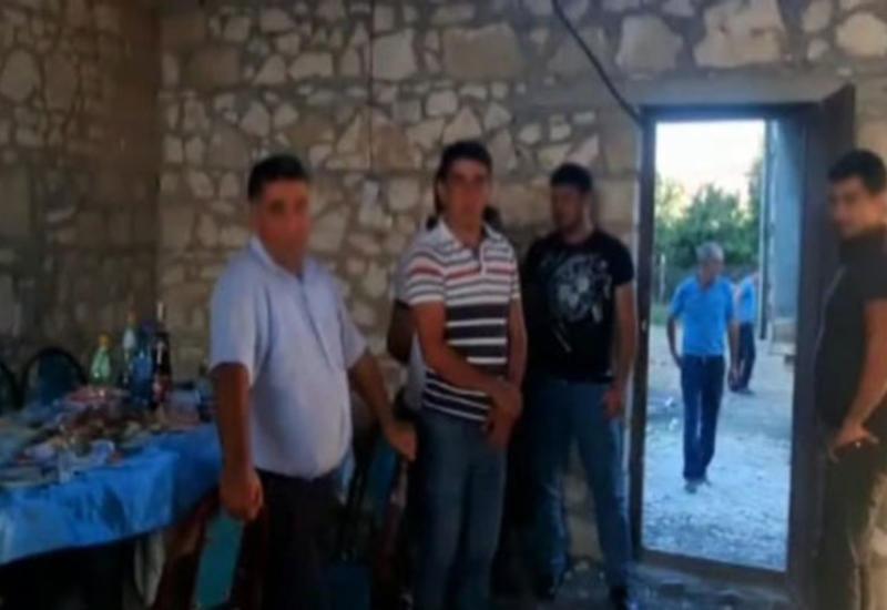 В Шамкире задержан человек, пытавшийся организовать торжество по случаю обрезания