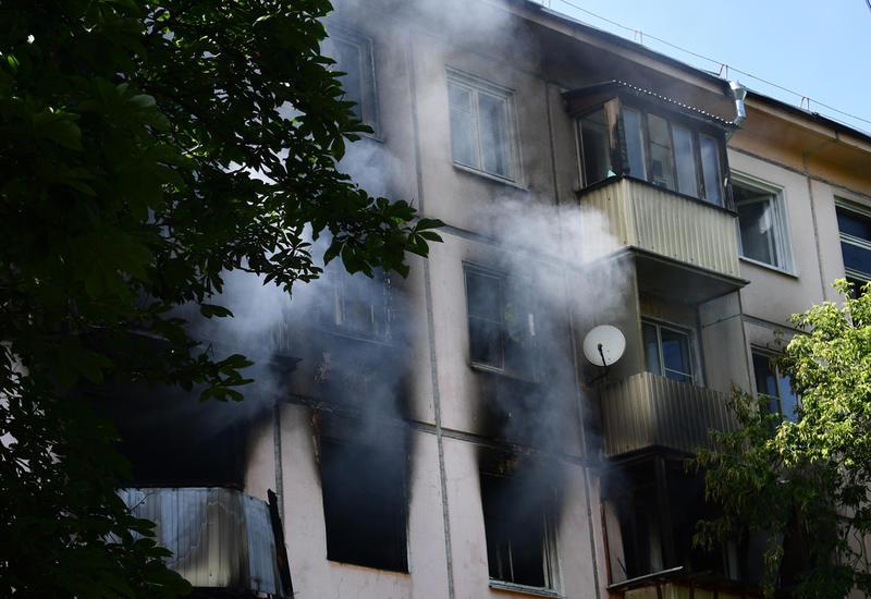 Кадры четырех сгоревших квартир после взрыва газа в Москве