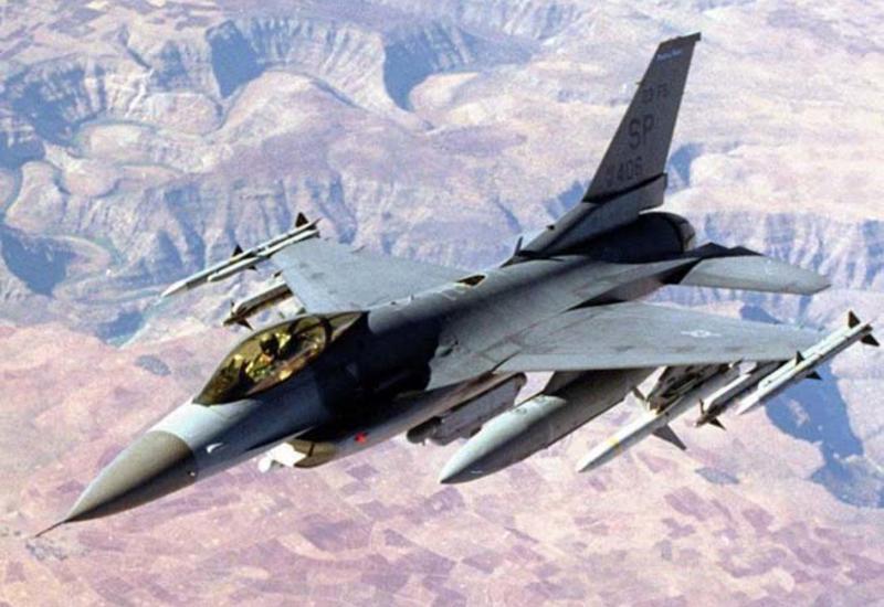 Истребитель ВВС США упал на авиабазе в Южной Каролине