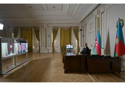 Состоялась встреча президентов Азербайджана, Афганистана и Туркменистана посредством видеоконференции - ФОТО - ВИДЕО
