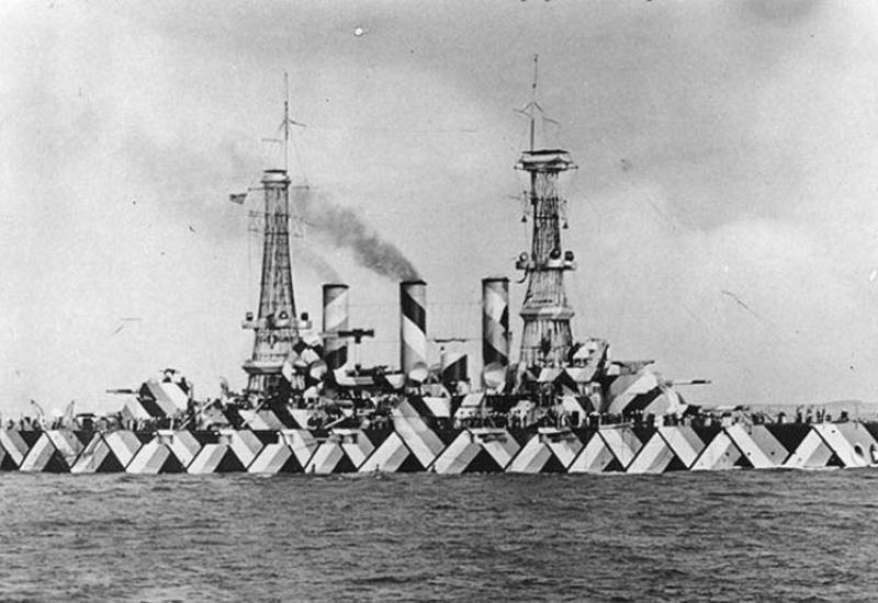 Как безумная окраска английских кораблей сводила немцев с ума
