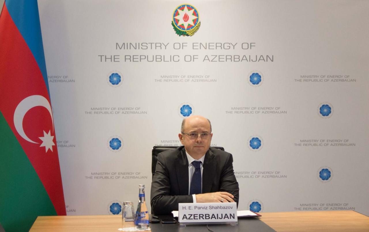 Парвиз Шахбазов провел переговоры с генсеком Международной энергетической хартии