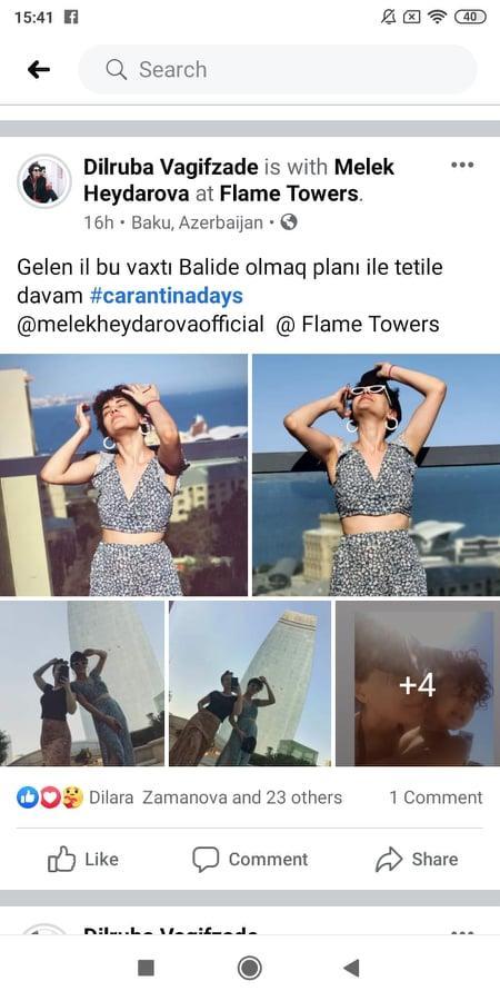 Oteldə karantini pozan məşhurlar: Elçin Əlibəylinin həyat yoldaşı...