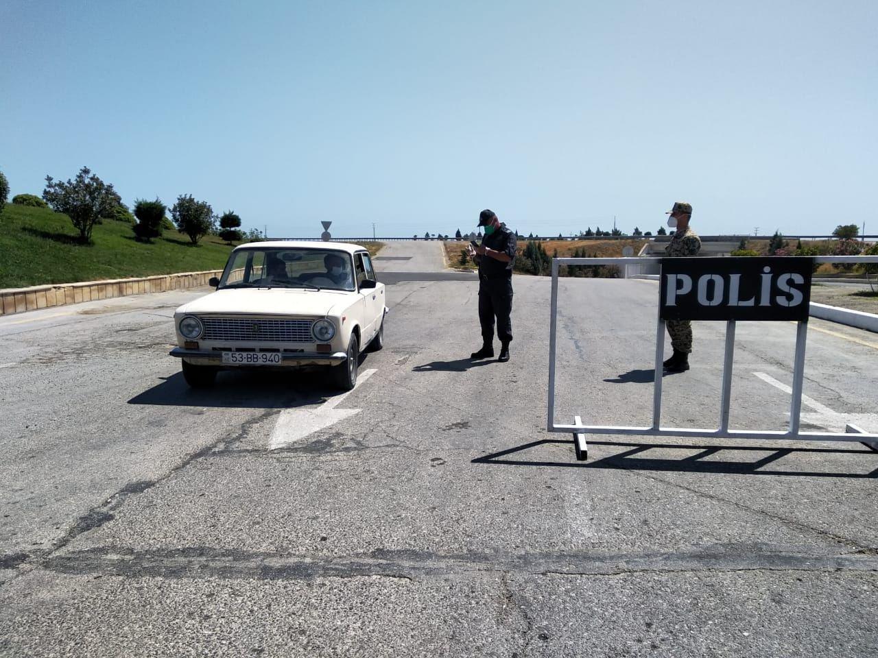 Xaçmaz və Siyəzəndə polis əməkdaşları gücləndirilmiş iş rejimində çalışırlar
