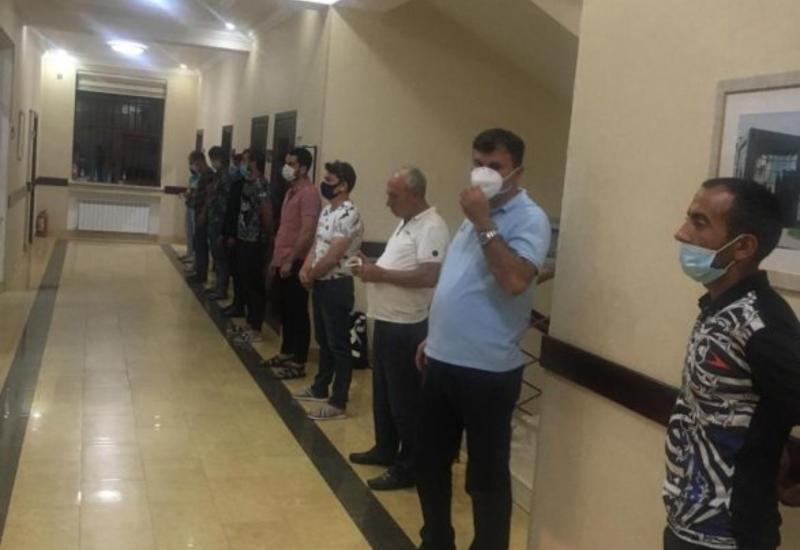 В Баку еще один центр отдыха нарушил карантин