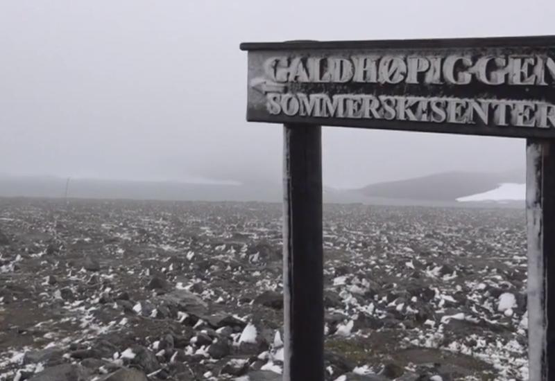 В Норвегии выпал снег