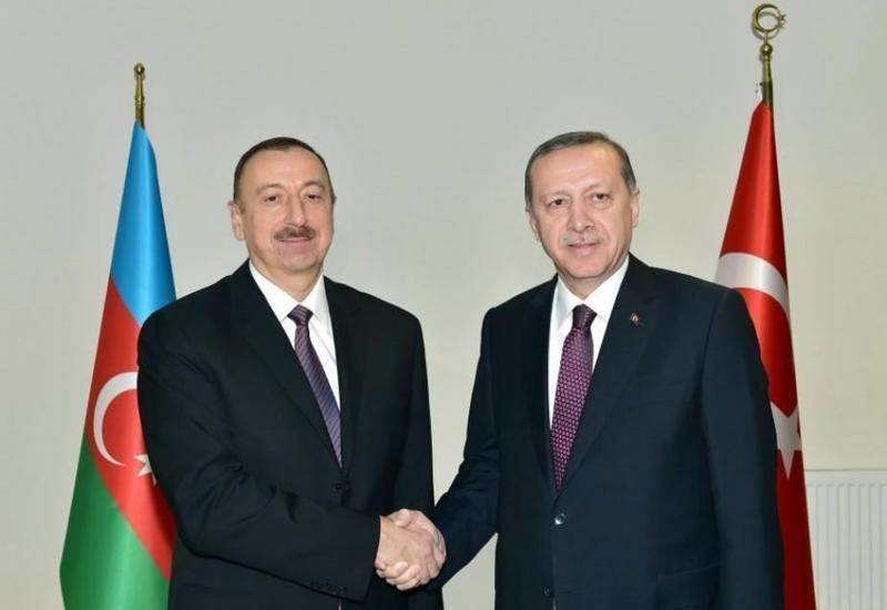 Президент Ильхам Алиев выразил признательность Реджепу Тайипу Эрдогану