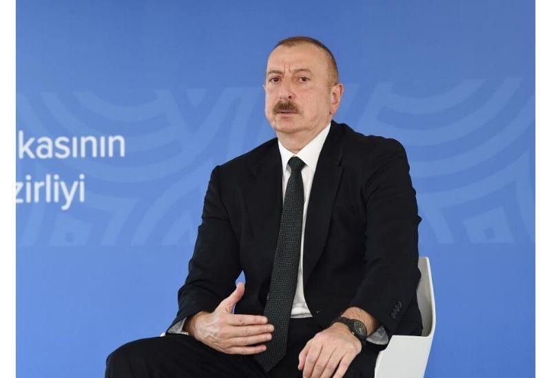 Президент Ильхам Алиев: У нас есть достаточно сигналов о том, что некоторые политические деятели, члены правительства ряда европейских стран проявляют особое отношение к Армении