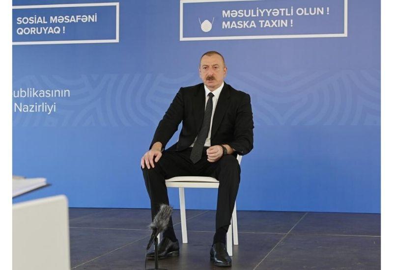Президент Ильхам Алиев: Даже цены на нефть составят 14 долларов, мы все равно выстоим
