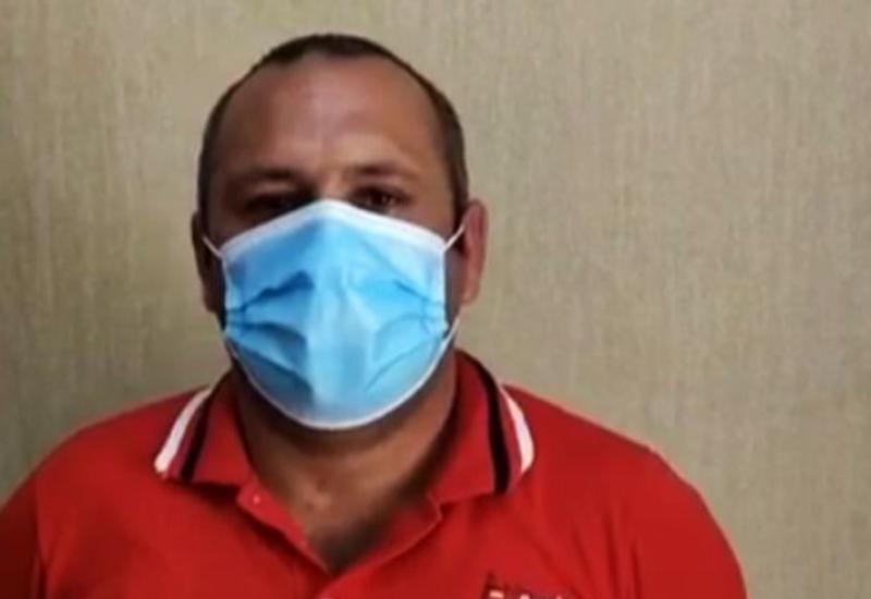 В Азербайджане задержан мужчина, проявивший неуважение к военнослужащему