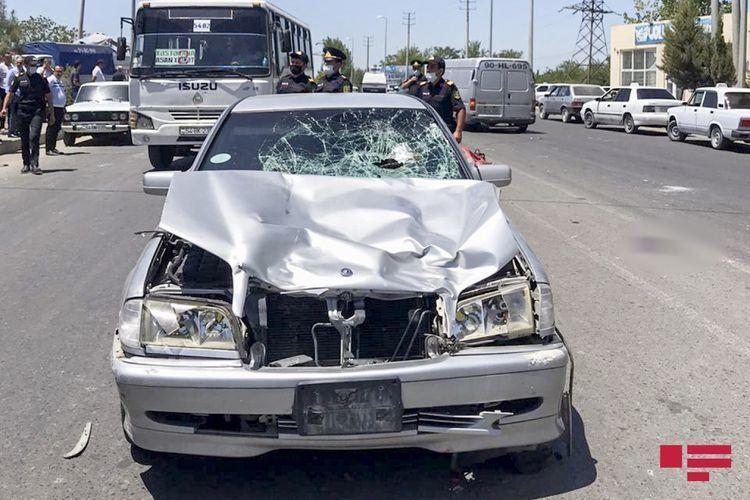 В Сабирабаде сын главврача сбил насмерть двух человек