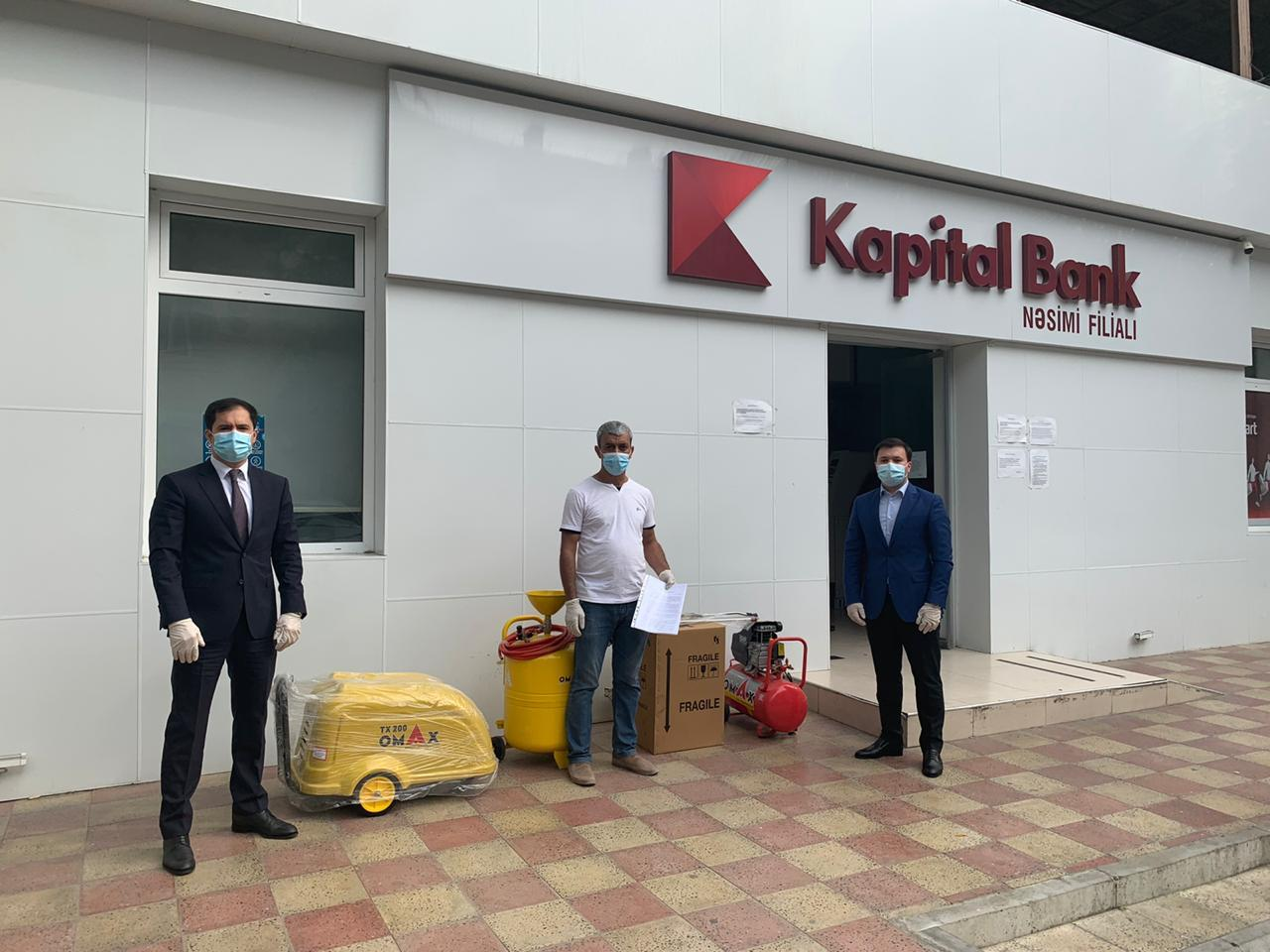 Kapital Bank оказал поддержку еще 30 начинающим предпринимателям (R)