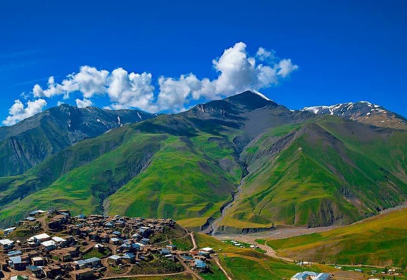 Высокогорные села Азербайджана в объективе известного фотографа
