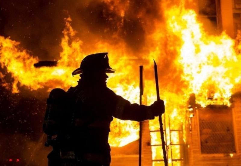 В Исмайыллы произошел пожар