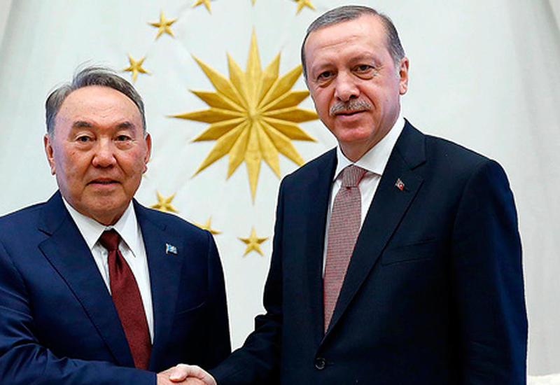 Эрдоган провел переговоры с Назарбаевым