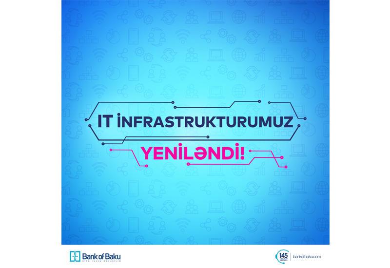 Bank of Baku IT infrastrukturunu təkmilləşdirir! (R)