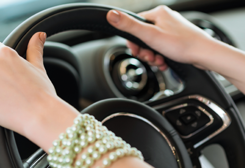В Баку задержана женщина-водитель, сильно превысившая скорость