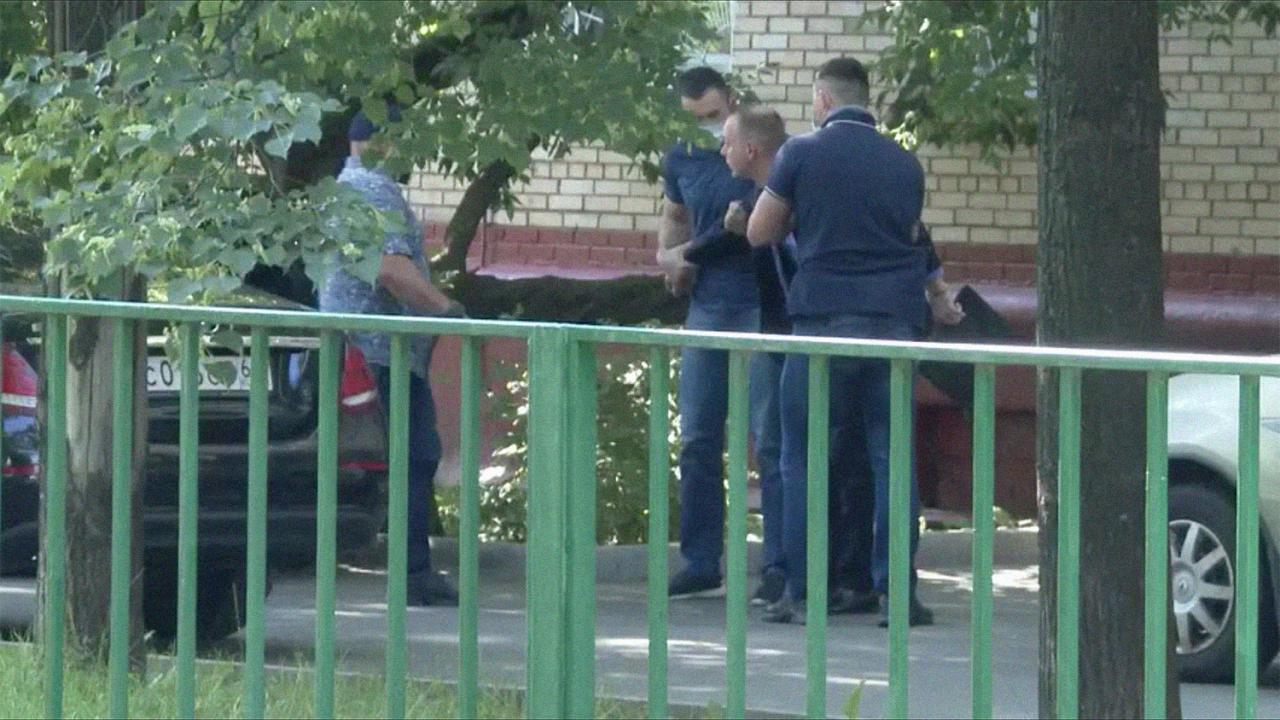 Кадры задержания Ивана Сафронова