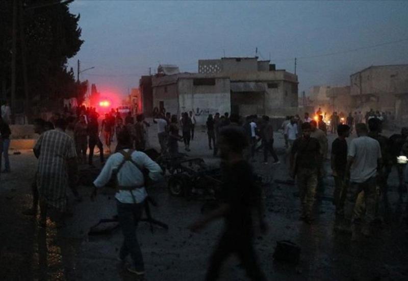 Теракт на севере Сирии