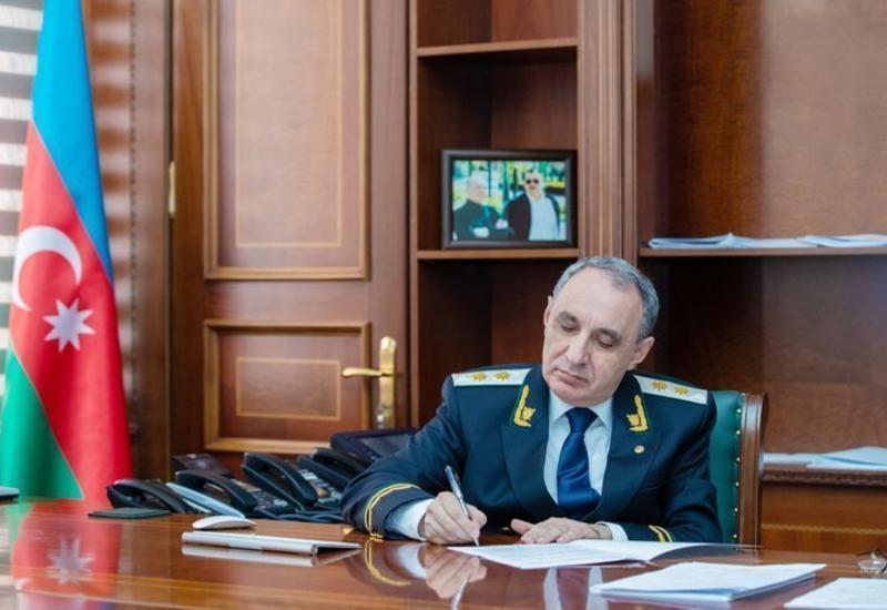 Назначен новый заместитель военного прокурора Азербайджана