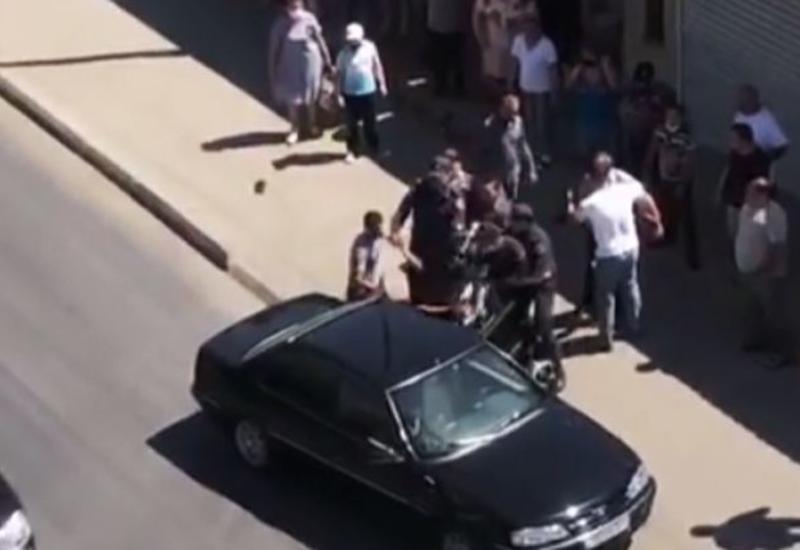 Главное управление полиции города Баку о мнимом «нападении» на полицейских