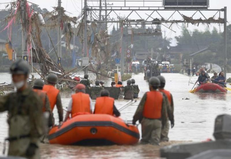 В Японии из-за ливней погибли 57 человек