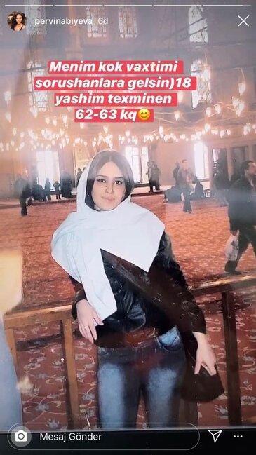 Pərvin Abıyevanın 18 yaşında çəkilmiş FOTOSU ŞOK ETDİ