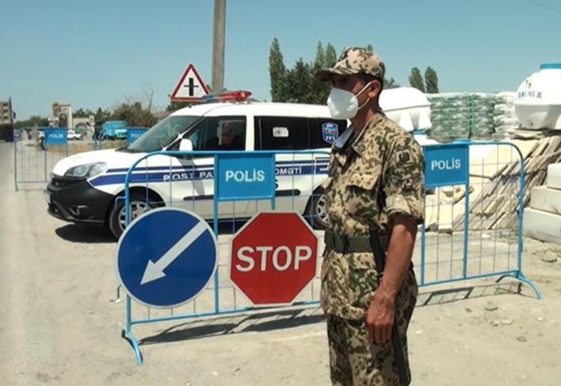 Запрещен въезд и выезд в один из районов Азербайджана