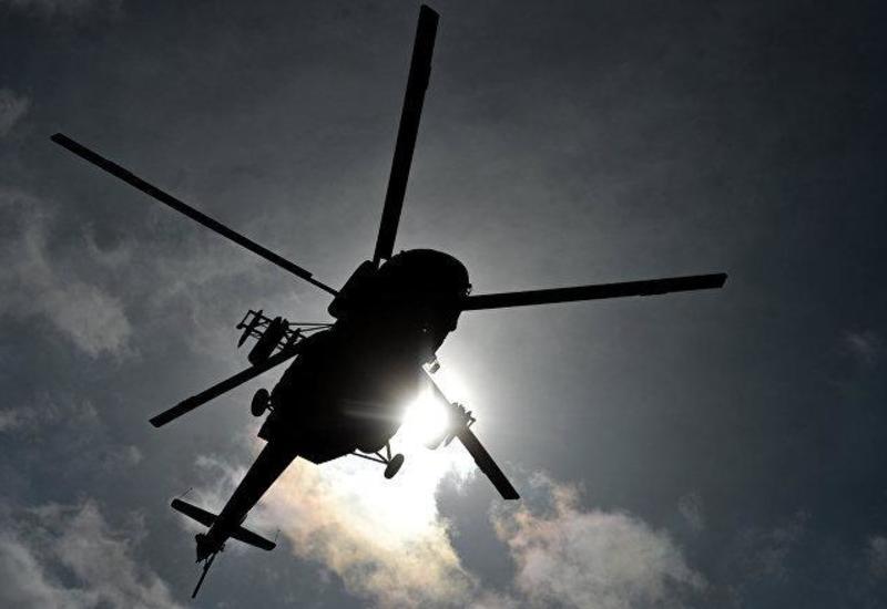 В Афганистане упал военный вертолет