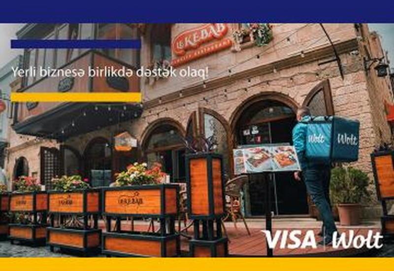 Wolt и VISA расширили свое партнерство в рамках кампании #SupportYourLocalRestaurants