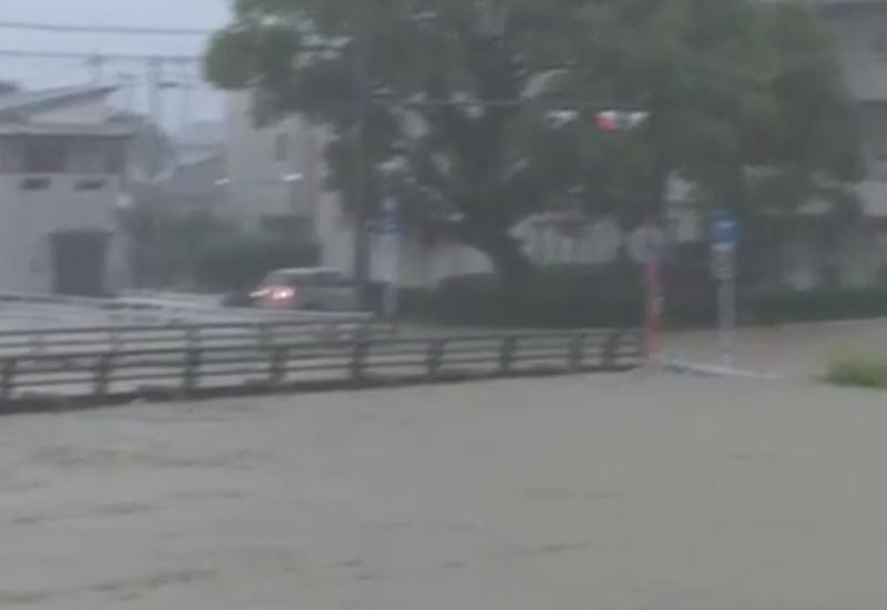 В Японии 64 человека стали жертвами наводнений и оползней