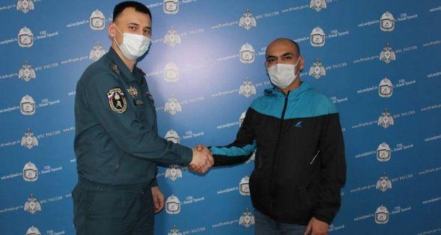 В России трое азербайджанцев героически спасли человека из горящего дома