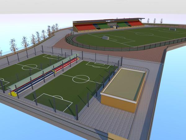 В Шамахы начинается строительство нового стадиона