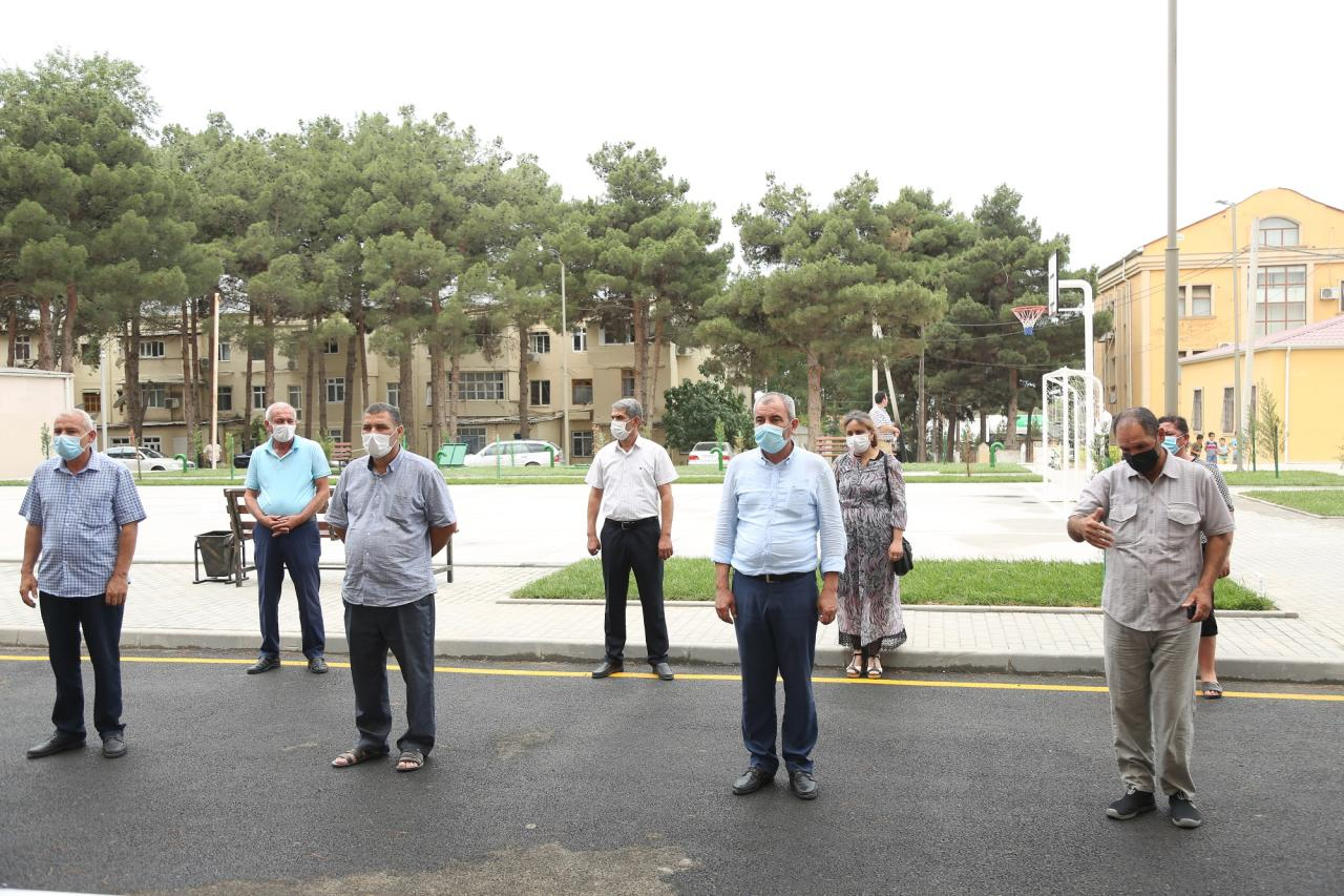 При поддержке Kapital Bank семьям шехидов и инвалидам Карабахской войны предоставлены дома (R)