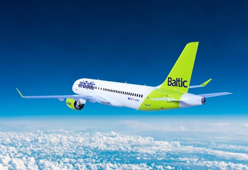 AirBaltic планирует полеты из Риги в Баку