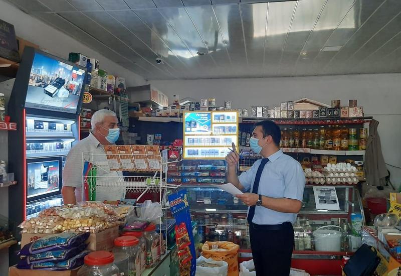 На центральном рынке Агстафы выявлены нарушения санитарно-гигиенических правил