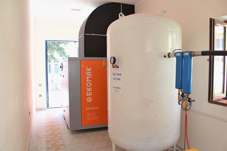 В Учебно-терапевтической клинике АМУ запущен кислородный генератор, необходимый в лечении COVID-19