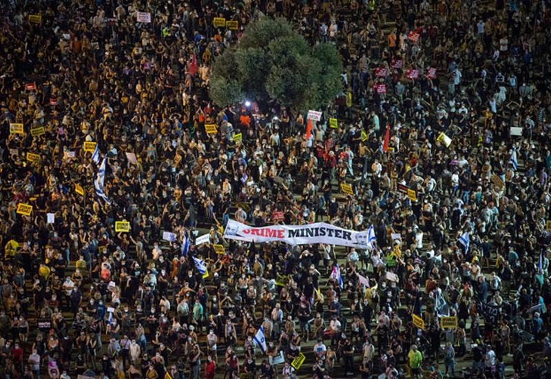 """""""Крик народа"""": акция протеста в Тель-Авиве"""